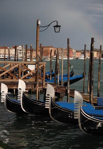 Gondolas, rainbows...