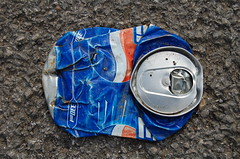 can can (mayzon15) Tags: road flat can litter pepsi