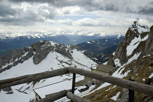 View from Pilatus Mountain
