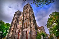 Vietnam Gothic HDR (BoyBitch) Tags: church french joseph photography nikon cathedral vietnam hanoi hdr josephs d300 camboy