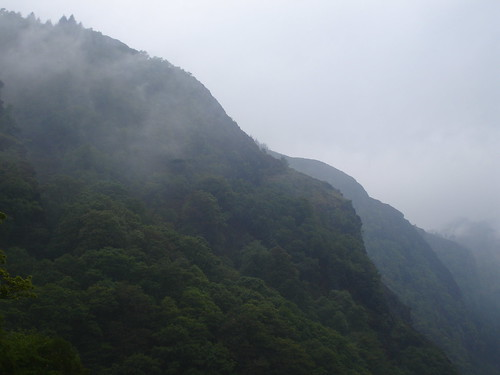 The Misty Mountains.