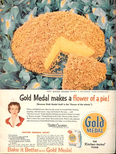 Flower of a Pie - Gold Medal 1957 (by senses working overtime)