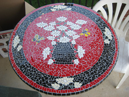 Handmade Mosiac Tile Table