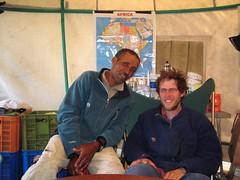 Shoa and Peter (sluggo5) Tags: ethiopia menz guassa