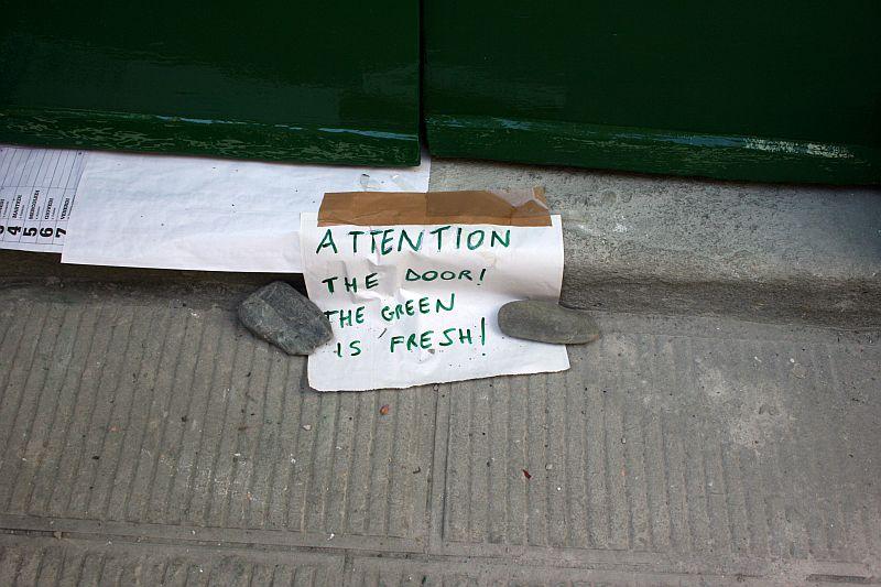 Cinque Terre - Green Door