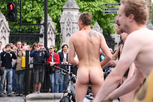 London Naked Bike Ride 2008