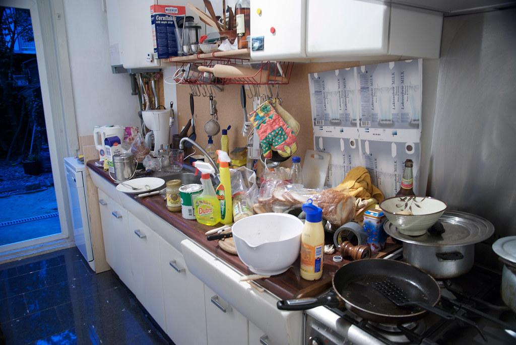 Kitchen whitebalanced manually