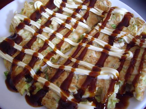 Homemade Okonomiyaki
