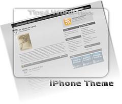 WordPress Theme - iPhone «‹ tips4WordPress