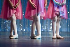 Dance recital feet