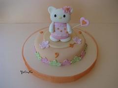 Tarta Decorada Hello Kitty