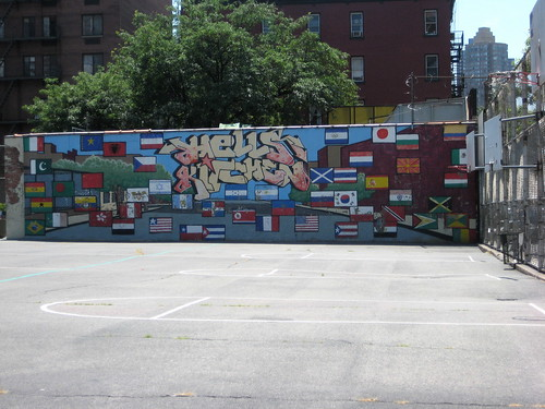 hell's kitchen mural