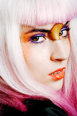 Eat Your Makeup (Josefina Alazraki Photography) Tags: fashion bowie model fashionphotography makeup 80s editorial fluo