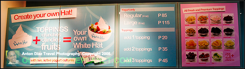 The White Hat - Let the Fro-Yo Wars Begin in Manila! • Our Awesome ... da725b77a51