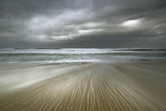 Dissociative fugue (Lus C) Tags: ocean sea sky cloud storm sunrise tide shoreline wave atlantic erosion geology masswaisting coastalprocesses
