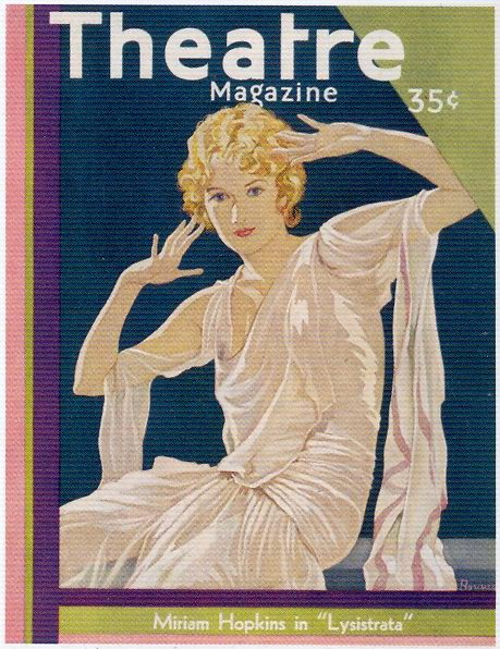 Theatre Magazine, Miriam Hopkins, 1930s