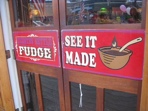 tasty fudge at LBI