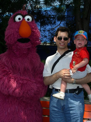 Sesame Place costume protector