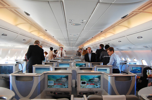 Flight Report Airborne In An Emirates A380 At SFO