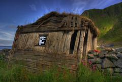 The abandoned  town of Mostad. II (solbergsengen) Tags: abandoned decay hdr vry 3xp roadless vaeroy forlatt forfall varoy mostad