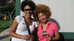 Janay + Gully Pick Fros! (FROLAB) Tags: hair peace natural afro pick fro fros frolab pickfrosnotfights frospotting frolaborators frospotted missfrolab