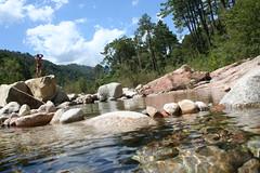 Corsica (MalatoSano) Tags: fiume corsica natura rocce