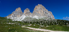 "Sassolungo e ""Citt dei Sassi"" (starpitti) Tags: italy panorama mountain alps nature italia stitch widescreen pano natura panoramica alpen alpi montagna stitched trentino gardena fassa canon1740 sassolungo saslong cittdeisassi canon40d"