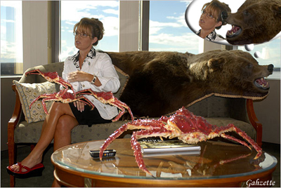 Palin's Got Crabs