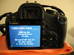 Canon Firmware Update - Scary!