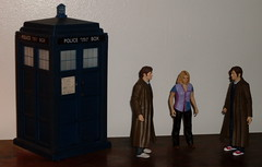 Rose and the two Doctors