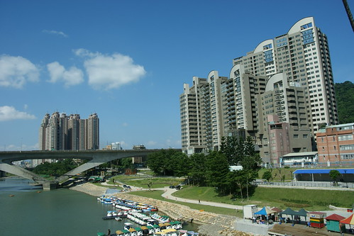 residential buildings at Bitan area