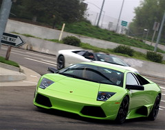 LP640 and Murcie Roadster (Noah Gillard Photography) Tags: white green cars wow crazy martin 911 run ferrari ufo chp expensive lamborghini rare meet aston roadster murcielago gt3 997 blackrims 1199 lp640 murcie posrsche