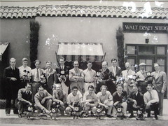 walt disney staff 1930s (Lostinawave) Tags: vintage mickey mickeymouse waltdisney waltdisneystudios animationart lesclark