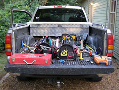 A big toolbox (Jer*ry) Tags: truck pickup tools toolkit repairman