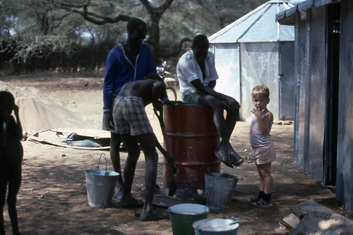 Me, in Southern Sudan (1978?)