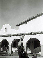 St. Andrew (kevin dooley) Tags: camera arizona bw favorite white black southwest building church phoenix beautiful statue vintage wow us interesting fantastic flickr pretty catholic very kodak outdoor good gorgeous awesome award meeting superior super best patio most walkway area winner stunning excellent brownie much incredible breathtaking exciting 1960 standrew phenomenal starflex valleyofthesun chander aplusphoto