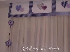 Banda Quarto!  (Retalhos de e bonecas) Tags: banda cortina de retalhos