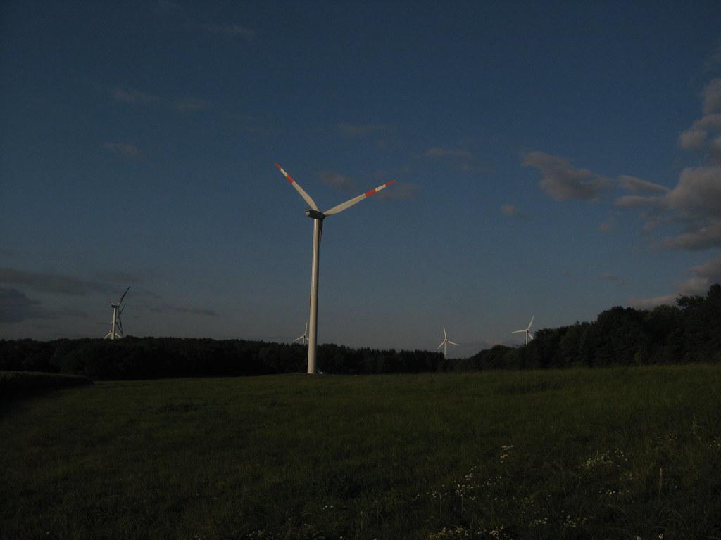 Wind turbine Rheinland Pfalz Germany