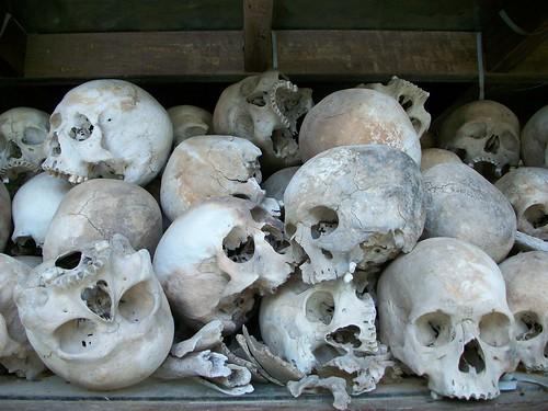 Skulls in the stupa 3