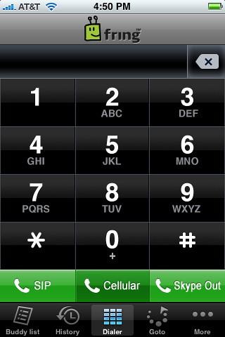 VoIP Skype en iPod Touch SIP