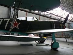 Lavokin La-7 (juhyxx) Tags: museum airplane fighter aircraft la7 kbely lavokin