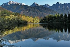 alpine mirror (werner boehm *) Tags: reflection mirror spiegelung karwendel natureselegantshots wordtrekker panoramafotografico wernerbhm mirrorser