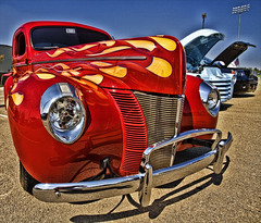 Flamed Ford Hot Rod
