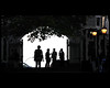 silhouettes (Dreamer7112) Tags: nyc newyorkcity people ny newyork tree college lamp leaves silhouette backlight contraluz nikon gate manhattan streetphotography silhouettes backlit lamps silueta siluetas ccny i♥ny cuny d300 novaiorque citycollegeofnewyork dreamer7112 nikond300 ньюйорк clipcook diferentlight