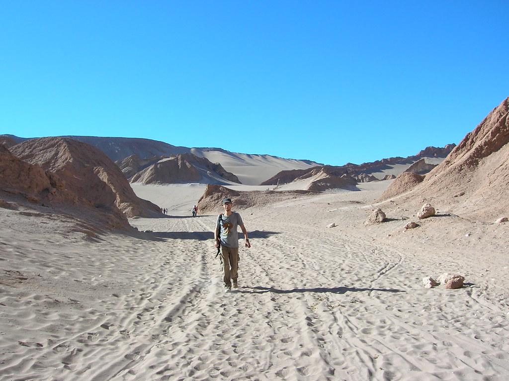 solo en el desierto de atacama