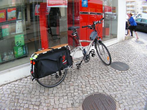 Passagem pelos correios de Porto Salvo