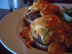 Creole Benedict (Accidental Hedonist) Tags: breakfast restaurant eggs brunch benedict amaama