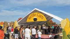 The Kettle Corn concession stand. Goebert's Farm Stand. Barrington Illinois. October 2008.
