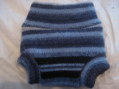 Recycled Wool Newborn Soaker
