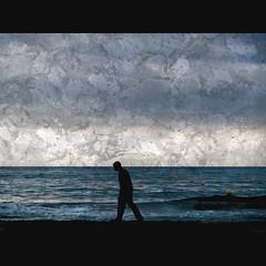 dulce castigo (Mar Lizana) Tags: textura mar calafell silueta javi olas cv dulce experimenting akane castigo explora lossuaves dulcecastigo exploracalafell